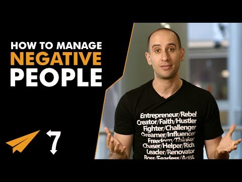 7 Ways to Manage NEGATIVE People at Work - #7Ways