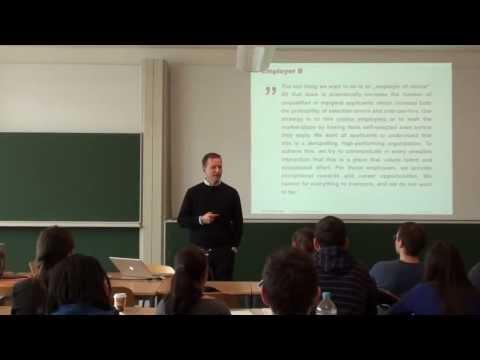 Human Resource Management Lecture Part 09 - Employee Survey