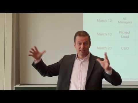Human Resource Management Lecture Part 11 - Change Management (2 of 2)