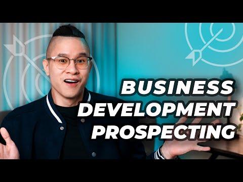Business Development Strategies - Prospecting For Business Development