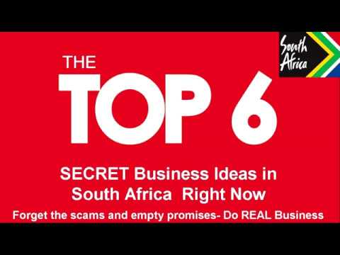 Top 6 Business Ideas For South Africa