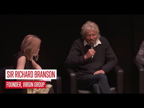 Sir Richard Branson: how to start a business