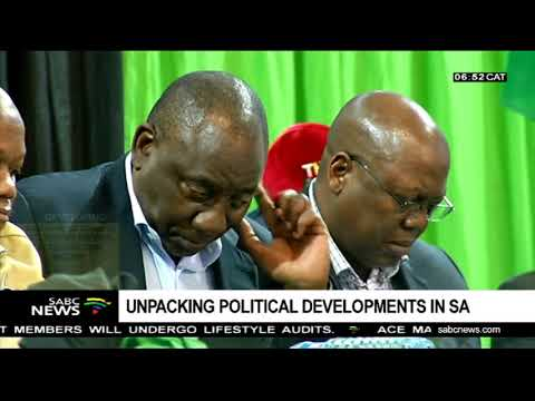 Unpacking political developments in SA