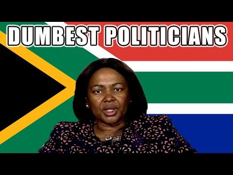 South Africa's Dumbest Politicians