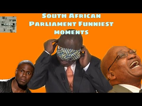South African Parliament Funny Moments ( Disgraceful?)