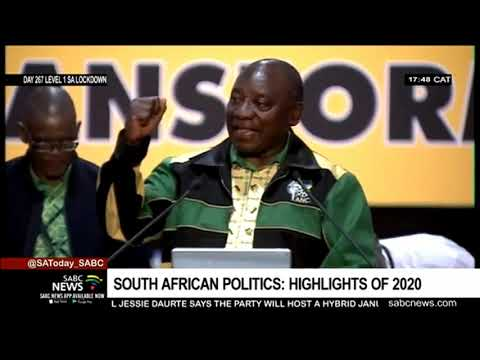 South African politics | Highlights of 2020