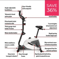 Threshold Sports  Upright Bike with Bluetooth
