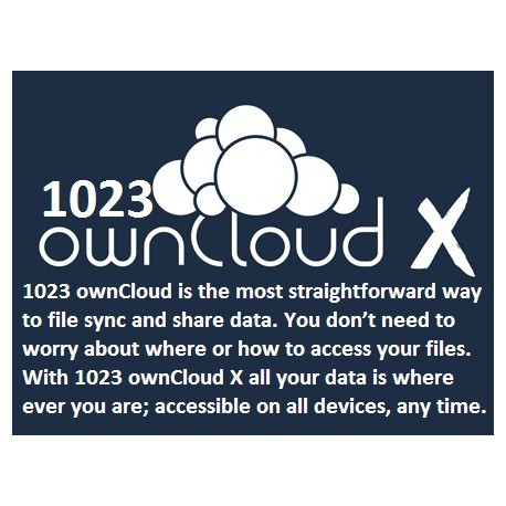 1023 Owncloud X
